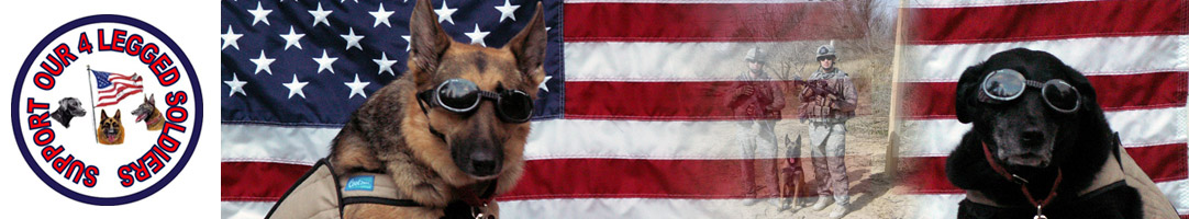 Support Our 4 Legged Soldiers